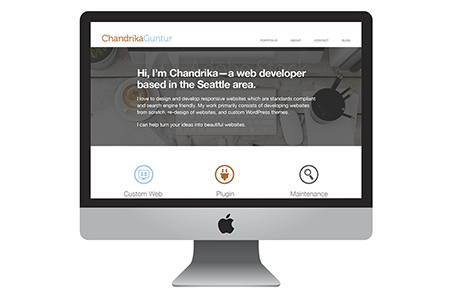 Chandrika Guntur Responsive Website