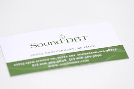 Sound DBT Branding