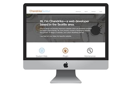Chandrika Guntur Responsive Website
